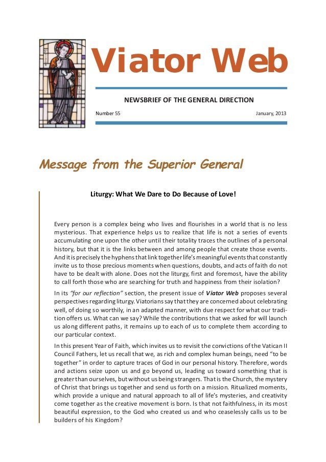Viator Web                              NEWSBRIEF OF THE GENERAL DIRECTION                  Number 55                     ...