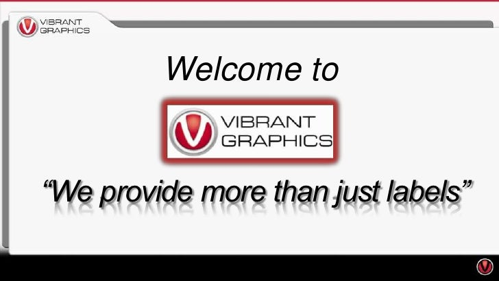 """Welcome to""""We provide more than just labels"""""""