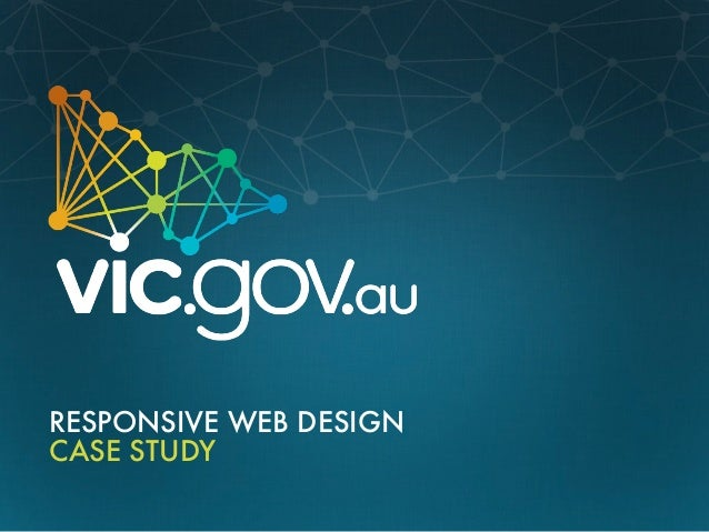 RESPONSIVE WEB DESIGNCASE STUDY