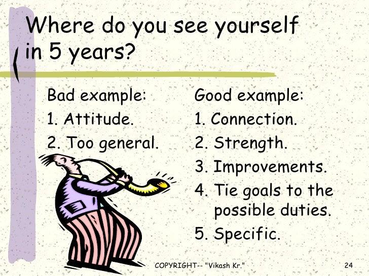 Where do I see myself in 5 years? Essay
