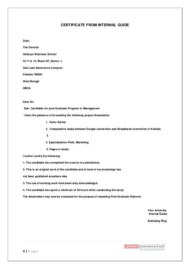 dissertation report on marketing pdf