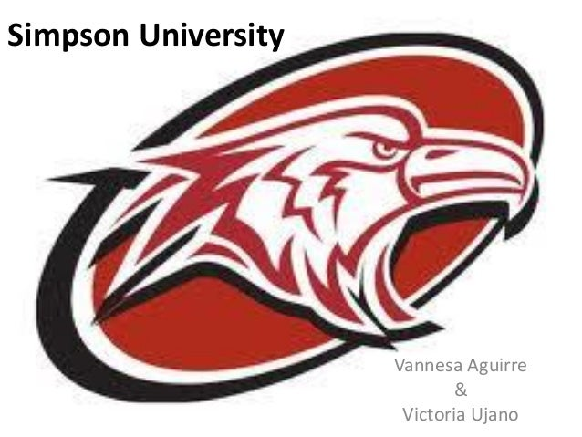 Simpson UniversityVannesa Aguirre&Victoria Ujano