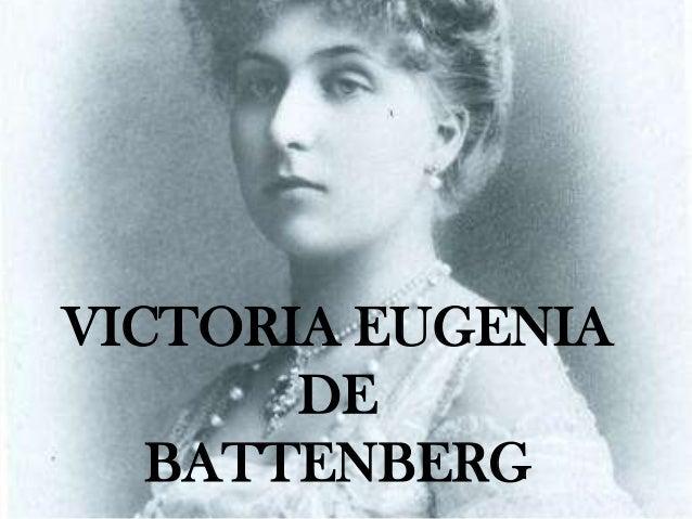 Victoria Eugenia de Battenberg