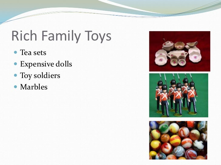 Toys For The Wealthy : Victorian era toys