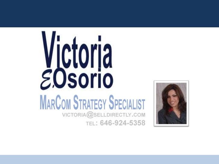 Victoria Osorio   Overview