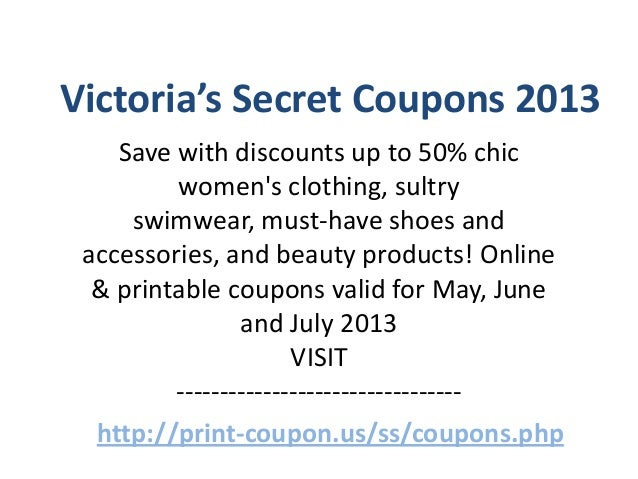 picture about Victoria Secret Coupons Printable named Victoria magic formula canada printable discount codes 2018 : Att uverse