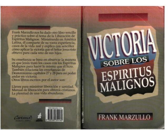 Victoria sobre los Espíritus Malignos-Frank Marzullo