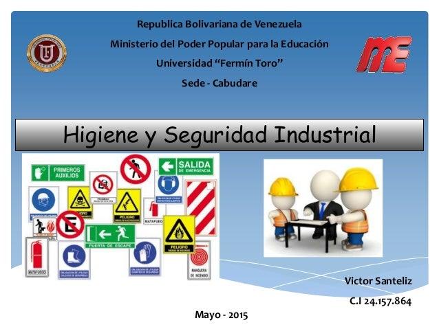 higiene y seguridad en venezuela: