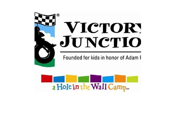 Victory junction slide show
