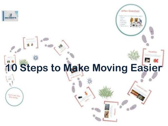 10 Steps to Make Moving Easier