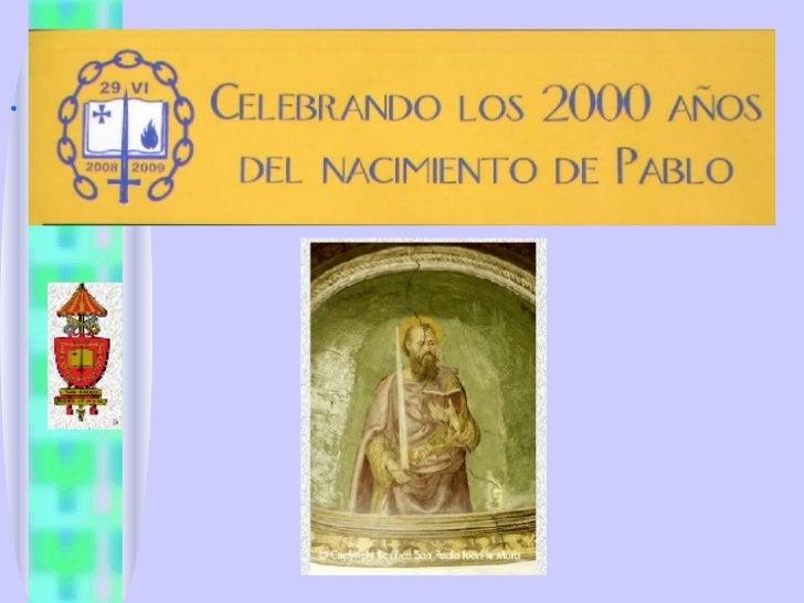 Vida Y Obra De San Pablo