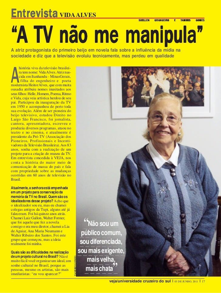 Entrevista VIDA ALVES                                                                    SUELLEN   GRANGEIR O             ...