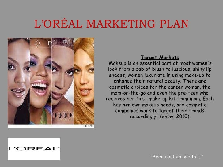 brand marketing loreal L'oréal paris is also the official partner of the paris fashion week, which allows the brand to be at the edge of beauty trends and to support well-known designers.