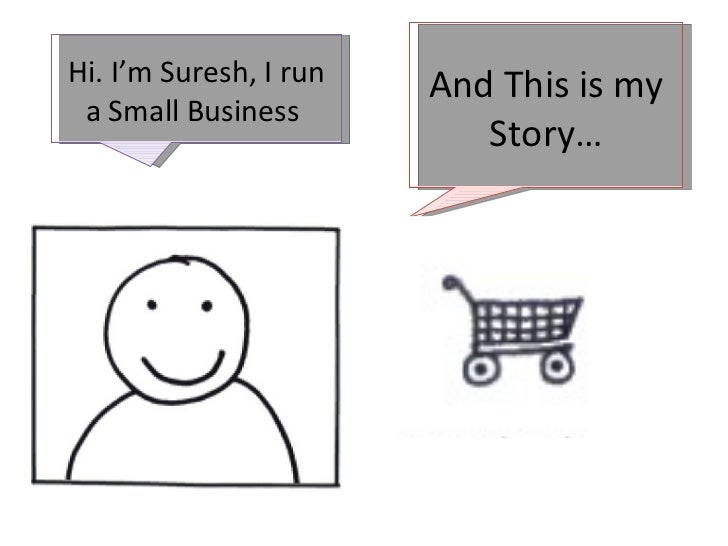 Hi. I'm Suresh, I run   And This is my a Small Business                           Story…