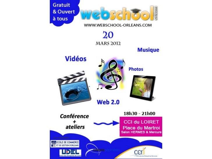 Photos, musiques, vidéos et partage 2.0   • Quelques chiffres clés   • Quelques sites de partage et de diffusion   • Ateli...