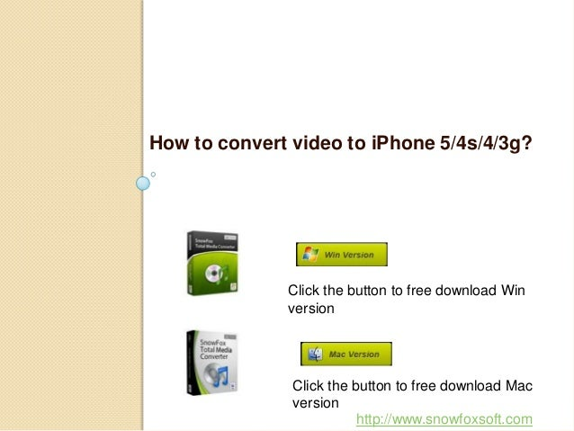 How to convert video to iPhone quickly and easily?