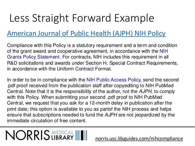 Cover Letter For Nih Proposal
