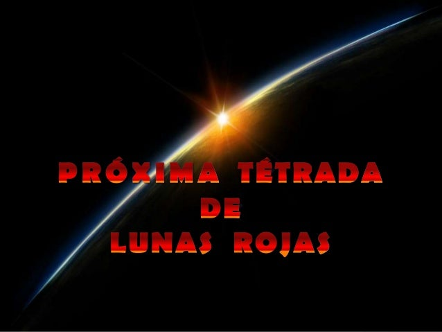 Video 3 tétradas lunares