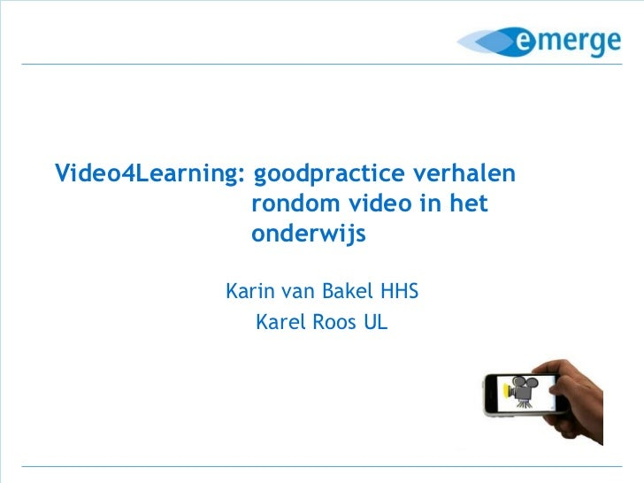 Video4learning