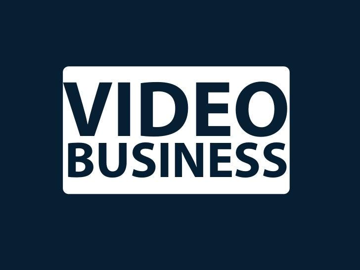 VIDEOBUSINESS