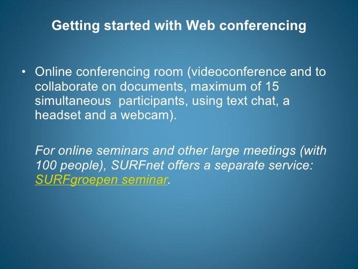 Videoconferencing instruction