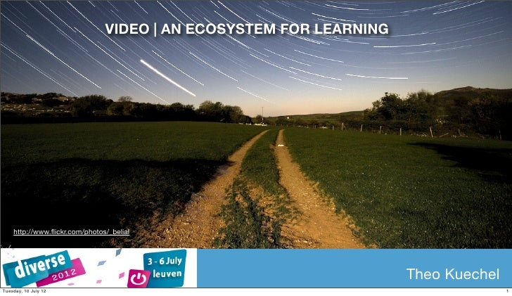 VIDEO | AN ECOSYSTEM FOR LEARNING    http://www.flickr.com/photos/_belial                                                  ...