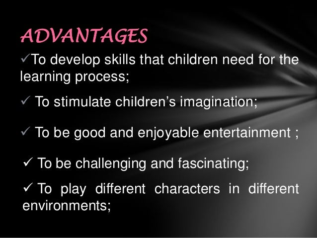advantages disadvantages of game development Take a step: illustration of advantages, disadvantages and factors leading to poverty - this is an example of an effort to help participants reflect on the unequal playing field that benefits some while making it more likely that others will be left behind.
