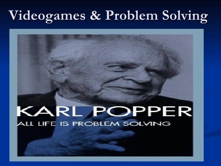 Videogames & Problem Solving