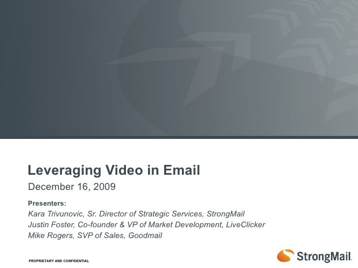 Leveraging Video in Email Marketing Campaigns