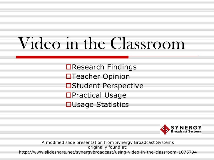 Media in the Classroom