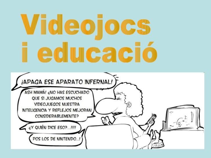 Videojocs i educació