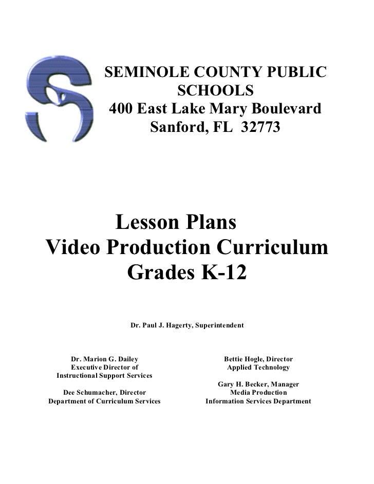 Video lessonplans