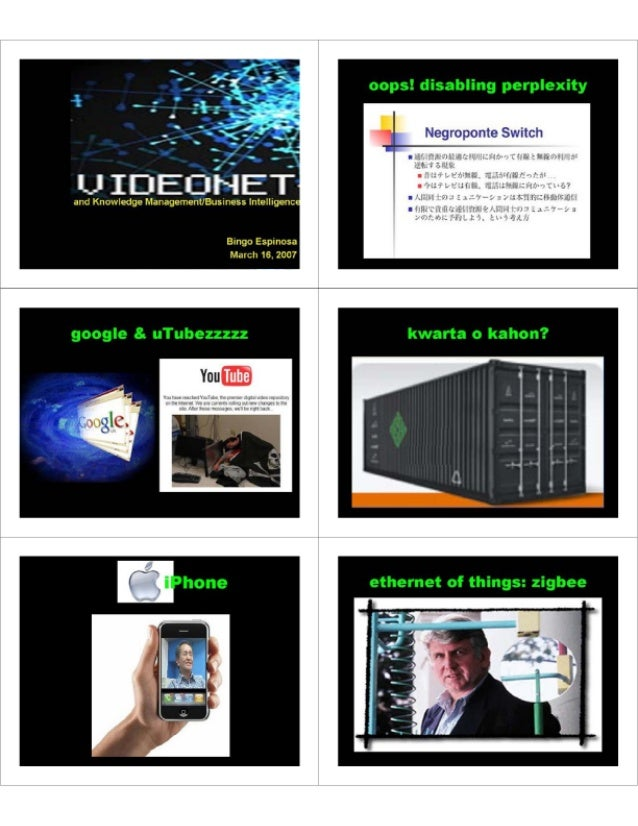 VideoNet and KM (PDF)