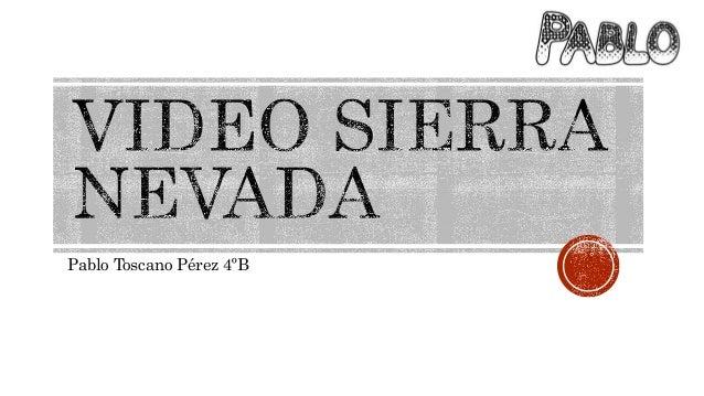 video as sierra: