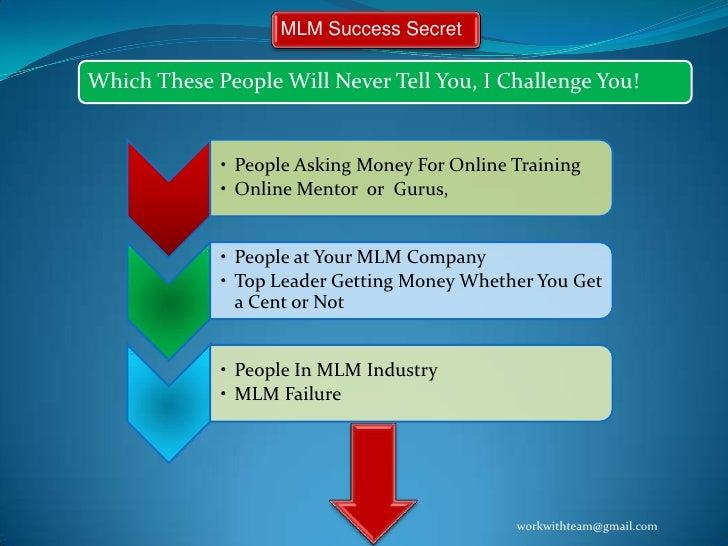 Success Secret for MLM Business