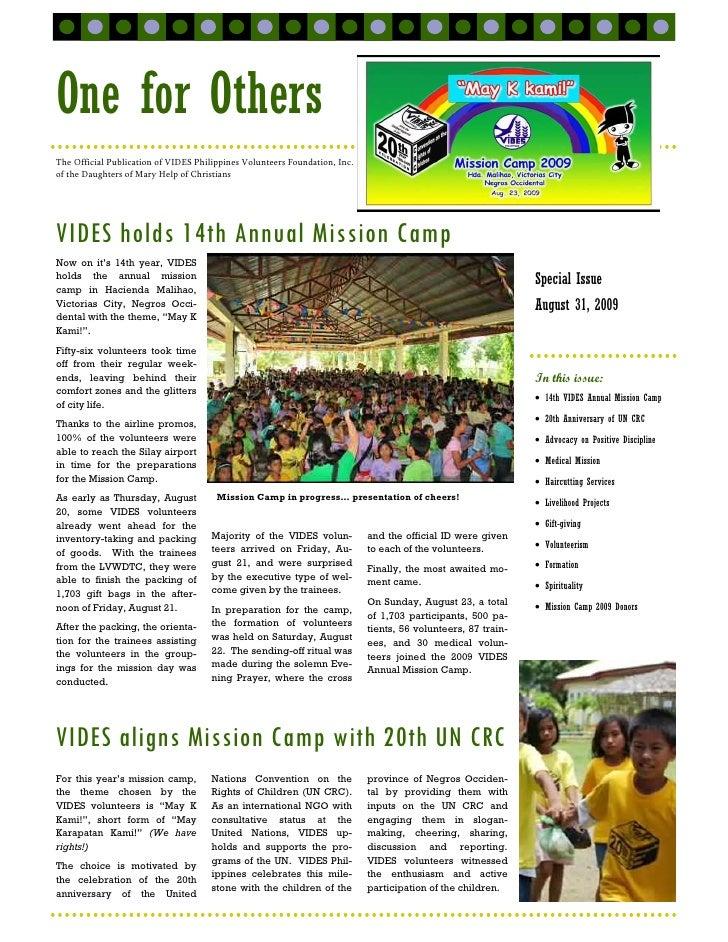 Vides News Flash   2009