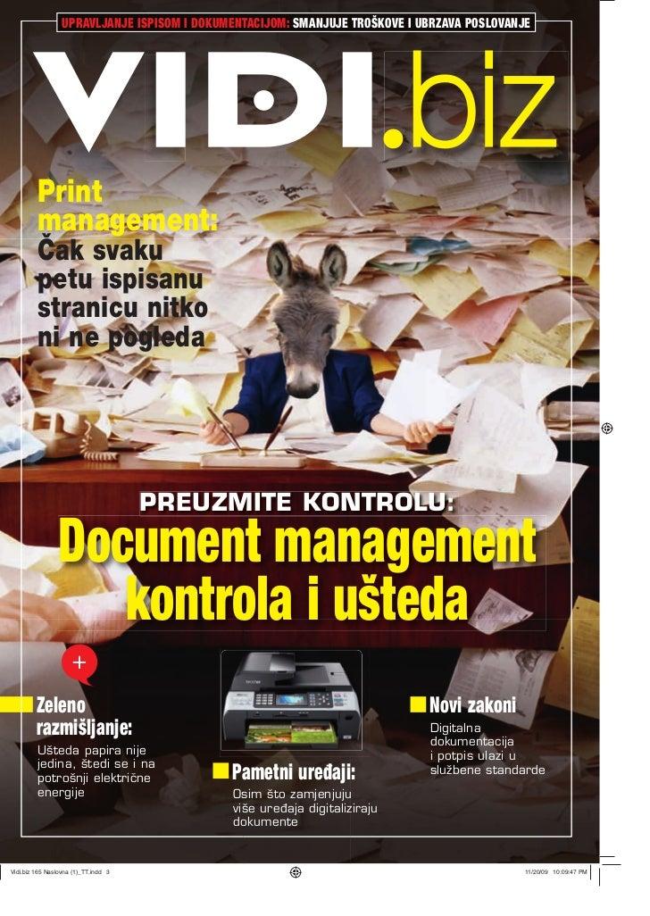 Document management - VIDI