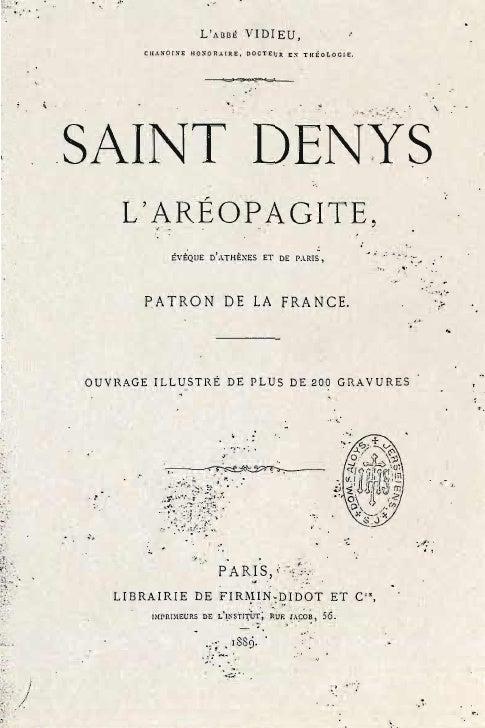 Vidieu auguste-saint-denys-l'areopagite-evèque-d'athènes-et-de-paris-patron-de-la-france-paris-1889