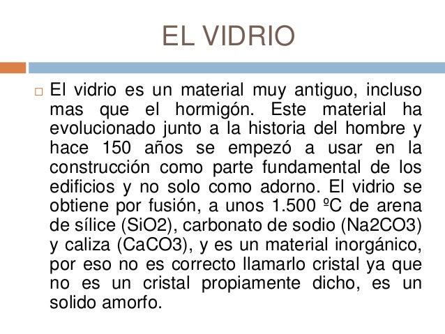 Vidrio for Como se hace el marmol