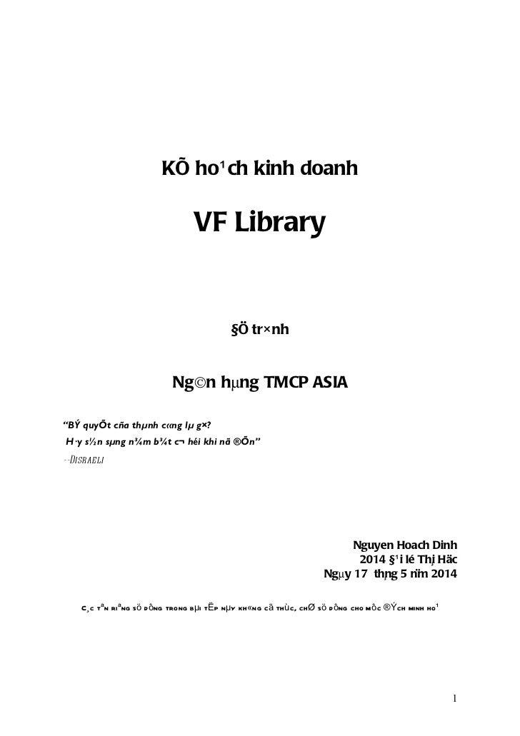 KÕ ho¹ ch kinh doanh                               VF Library                                        §Ö tr× nh            ...