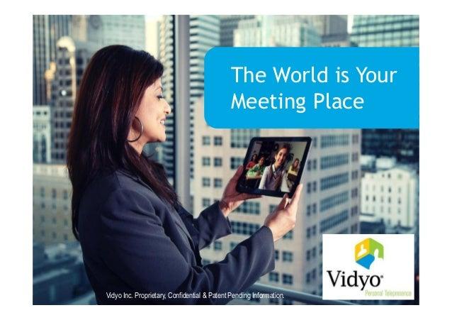 Jonathan Beale, Sales Manager UK&I at Vidyo - HD Visual Communications Revolution – Are you ready?