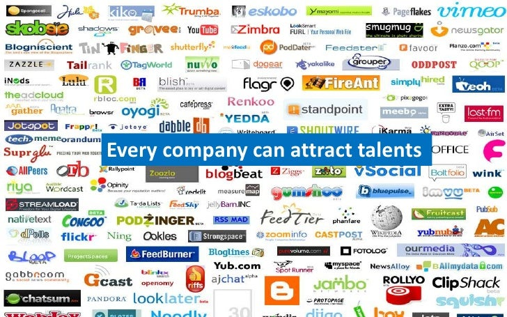 Every company can attract talents<br />