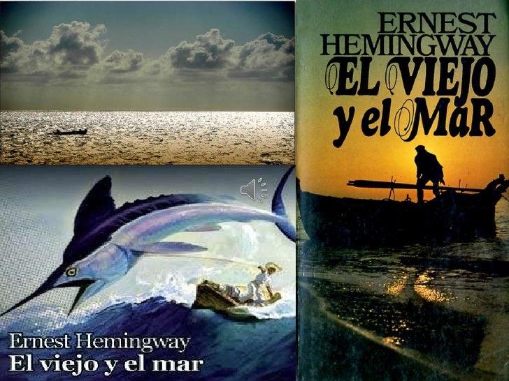 El viejo y el mar  La historia cuenta queSantiago hace 84 días no ha pescado nada. En losprimeros cuarenta días lo acompañ...