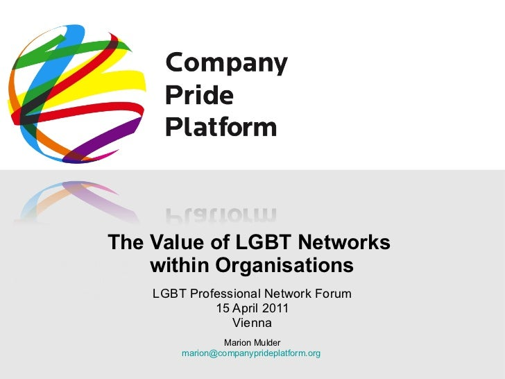 The Value of LGBT Networks within Organisations
