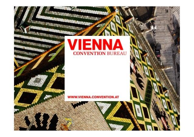 Vienna Convention Bureau MICE BOAT presentation