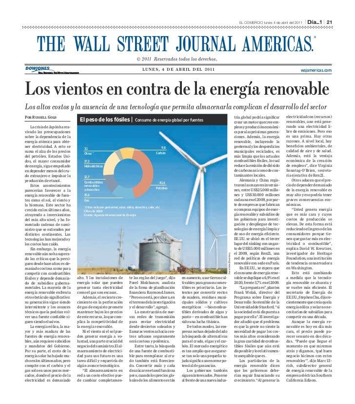 EL COMERCIO lunes 4 de abril del 2011   l         l   21                                                                  ...