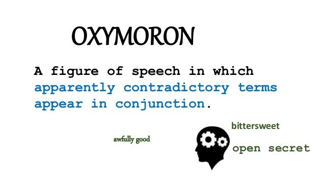 For Our Better Writing 9 Oxymoron