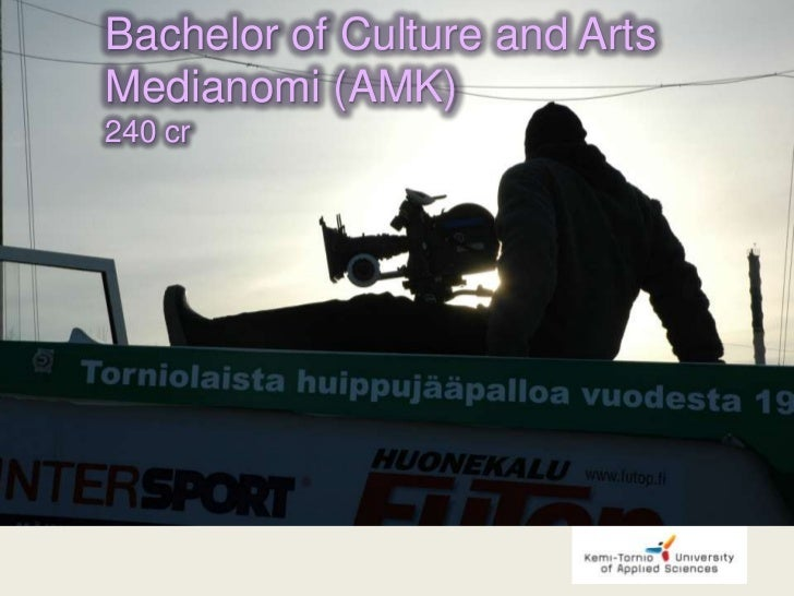 Bachelor of Culture and ArtsMedianomi (AMK)240 cr