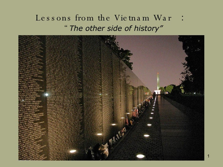 "Lessons from the Vietnam War   : "" The other side of history"" By Shigeaki Uchiyama"