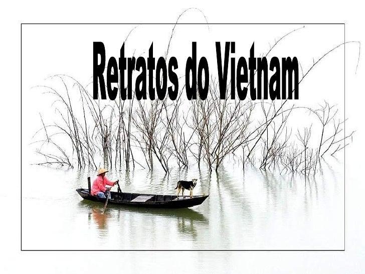 Retratos do Vietnam